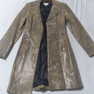 Bebe leather blazer